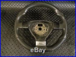 2005 Vw Golf 2.0 Gti 5dr Mk5 Flat Bottom Leather Steering Wheel #613