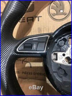 2012-2016 Audi A3 A4 A5 S Line Multi Function Flat Bottom Steering Wheel 8u0124c