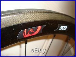 2015 Zipp 303 Firecrest Carbon Clincher Shimano SRAM 11 Matte Black rear wheel