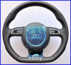 2018 S Line Audi A6 S6 RS6 4G A7 S7 RS7 A8 S8 Flat bottom steering wheel