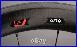 2018 Zipp 404 Firecrest Carbon Clincher Matte Black Front Wheel Only