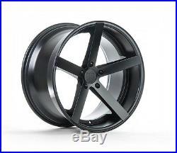 20X9 +25 Rohana RC22 5x114 Black Wheels Fit Nissan Maxima 2010 5X4.5 Aggressive