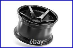 20 Ferrada Fr3 Matte Black Concave Wheels For Camaro Lt Ls Rs Ss 20x9/10.5
