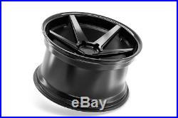 20 Ferrada Fr3 Matte Black Concave Wheels Rims Fits Dodge Charger Rt Se Srt8