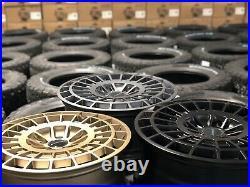 20 Ford Transit Custom Matt Black Motion R Alloy Wheels