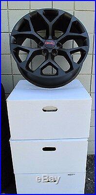 20 Gmc Yukon Sierra Suv Factory Style Matte Black New Set Of Wheels 5668
