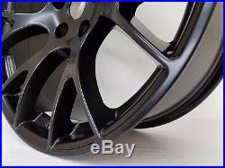 20 Matt Black Satin Wheels & Tyres Fits Chrysler 300c, Dodge Charger, Crd, Srt
