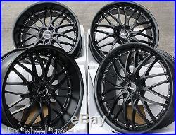 20 Matte Black 190 Alloy Wheels Fits Bmw E34 E39 E60 E61 F11 F10 5 6 7 8 Series