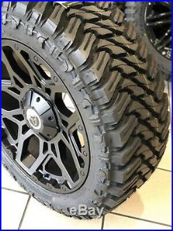 20 Mercedes X Class Alloy Wheels Matt Black Wolfrace Sahara Mud Terrain Tyres