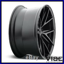 20 Niche Misano Black Concave Wheels Rims Fits Chevrolet Camaro Ls Lt Ss
