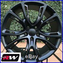 20 RW Wheels for Dodge Durango Matte Black Grand Cherokee Spider Monkey Rims