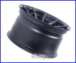 20 Rohana Rf1 Matte Black Concave Wheels For Mercedes W212 E Class E350 E400