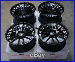 20 XO Monaco Matte Black Wheels for BMW F30 F32 E90 E91 E92 E93