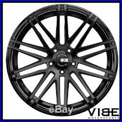 20 Xo Milan Matte Black Concave Wheels Rims Fits Benz W218 Cls550 Cls63