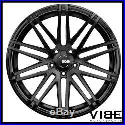 20 Xo Milan Matte Black Concave Wheels Rims Fits Bmw F01 740 750 760