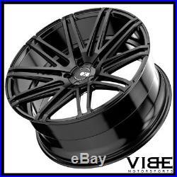 20 Xo Milan Matte Black Concave Wheels Rims Fits Mercedes W221 S550 S63 S65