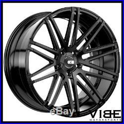 20 Xo Milan Matte Black Concave Wheels Rims Fits Nissan Altima