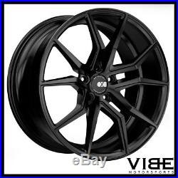 20 Xo Verona Matte Black Concave Wheels Rims Fits Chevrolet Camaro Ls Lt Ss