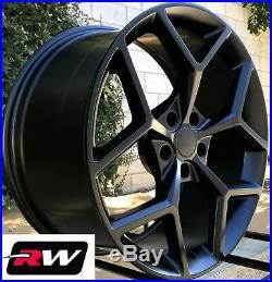 20 x9 / 20 x10 inch Wheels for Chevy Camaro 2010-2019 Matte Black Z28 Rims