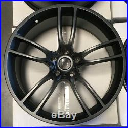 20x10/20x11 GT Style fit Ford Mustang 5x114.3 35/50 Matte Black Wheels Set(4)