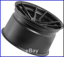 20x10 +33 Rohana RF2 5x112 Matte Black Wheels For AUDI A5 S5 S6 S8 Flow Forged