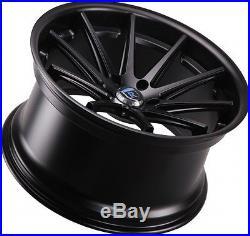 20x11 +28 Rohana RC10 5x112 Matte Black Wheels Fit Audi S5 V8 Deep Concave Rim