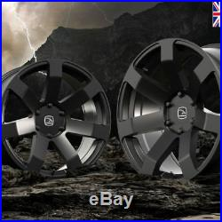 20x9.0 HAWKE SUMMIT XD Matt Black 6-139 et10 AWD Alloy Wheels x 4 FORD RANGER
