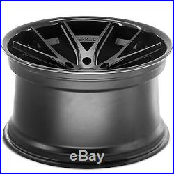 22 Ferrada FR2 22x9.5/11 Matte Black Concave Wheel Dodge Charger SRT Hellcat
