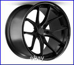 22 Ferrada Fr2 Matte Black Wheels For Porsche Panamera V6 S Gts Turbo