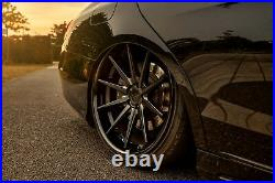 22 Ferrada Fr4 Matte Black Concave Wheels For Mercedes W222 S550 S63 S65