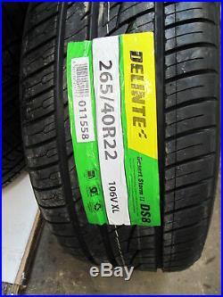 22 Jeep Grand Cherokee Durango 4 Wheels Rims Hellcat Style Matte Black Tires 4