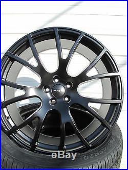 22 New Dodge Charger Srt Hellcat Satin Black Set Of 4 Wheels Rims Tires