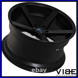 22 Rohana Rc22 Black Deep Concave Wheels Rims Fits Bmw E63 E64 645 650