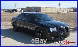 22 SRT-8 Matte Black Wheels Fits Dodge Chrysler Charger Challenger