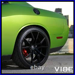 22 Xo Verona 22x10.5 Black Concave Wheels Rims Fits Jeep Grand Cherokee Srt