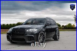 22x10.5 +42 Rohana RC10 5x120 Matte Black Wheel Fit Bmw X5 M 2013 Aggressive Rim