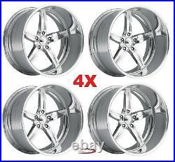26 Pro Wheels Rims Spitfire 5 Intro Foose Mags Forged Billet Line Aluminum