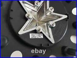 4 KMC XD Series Matte Black Wheel Center Hub Caps 5/6/8Lug XD775 Rockstar