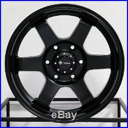 4-New 17 Vors VE37 fit Toyota Tacoma 4Runner Wheels 17x8.5 6x5.5/6x139.7 0 Matt