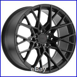 4-TSW Sebring 18x8.5 5x114.3 (5x4.5) +40mm Matte Black Wheels Rims