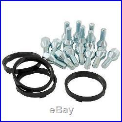 4 x Rota Grid Matt Black Alloy Wheels 15x7ET404x100 PCD67.1mm Centre