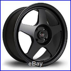 4 x Rota Slipstream Matt Black Alloy Wheels 15x7ET284x100 PCD67.1mm CB