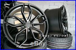 4x 22 zoll HAXER 120 felgen für BMW X5 X6 E70 F15 concav wheel Vossen Black HRE