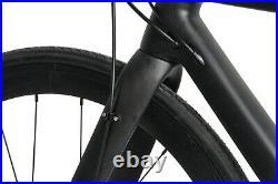 54 AERO Carbon Frame Road Bike 700C Alloy Wheel Clincher Disc Brake UD Matt