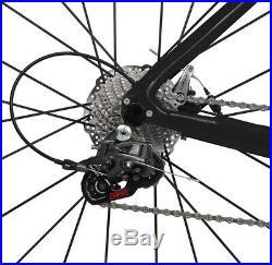 54cm Road Bike Disc Brake Full Carbon 700C Bicycle Frame Alloy Wheels 28C tyre