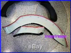 9 Matte Black Off-road Fender Flares Wheel Arch For Ford Ranger Px T6 2012-2015