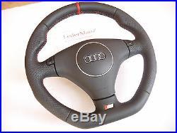 A3 8L A8 D2 A4 B6 8E A2 S3 S4 A6 Tiptronic paddle flat custom steering wheel