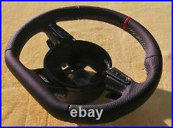 AUDI S5 FLAT BOTTOM STEERING WHEEL RS5 RS6 S3 TTS S6 S7 S4 S-line TTRS RS7 RS4