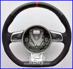 AUDI S Line ALCANTARA A3 A4 A5 A6 A8 TT RS Q5 Q7 R8 steering wheel Flat Bottom