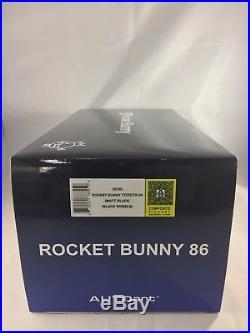 AUTOart 1/18 Rocket Bunny 86 (Matte Black / Black Wheel) 78755